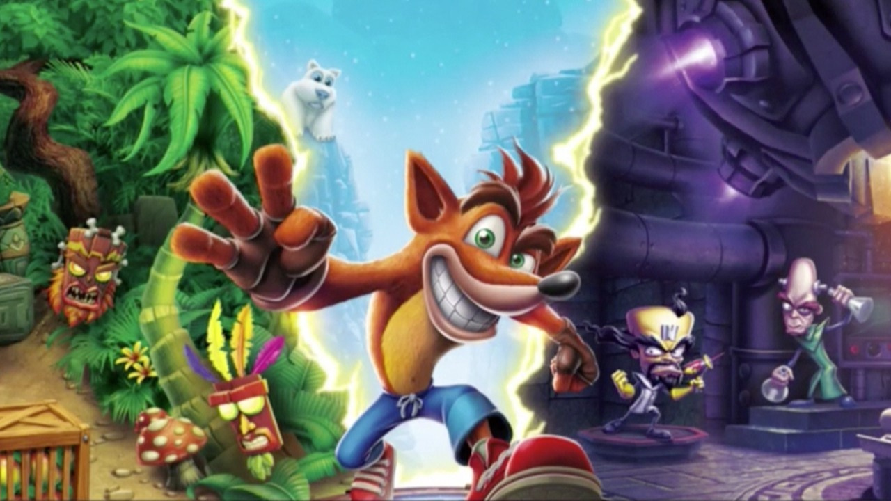 Crash Bandicoot Holds Onto Uk Number One As Switch And Xbox Versions