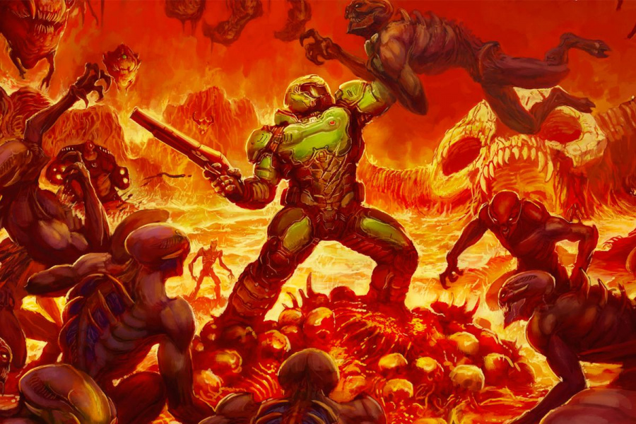 The studio's port of DOOM was not so far from jaw release