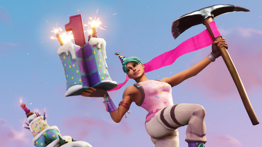 Fortnite 1st Birthday