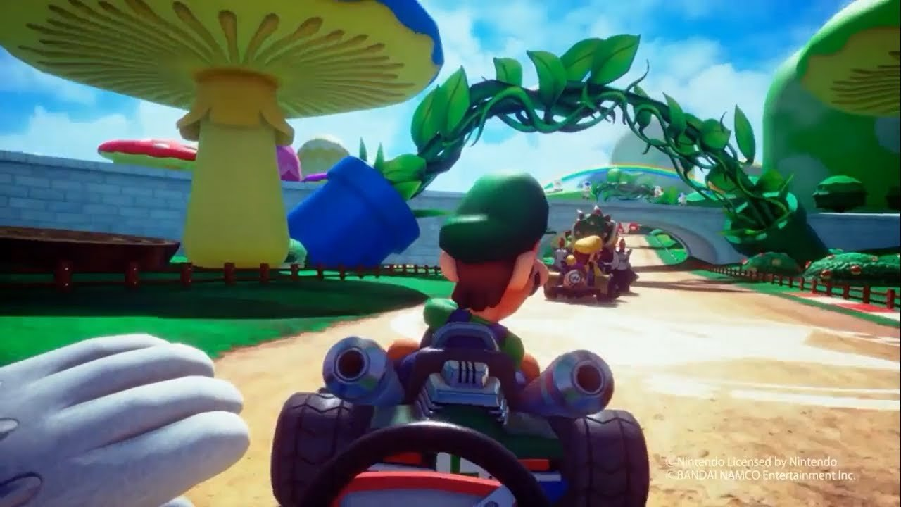 Mario Kart VR Will Launch In The UK This Summer