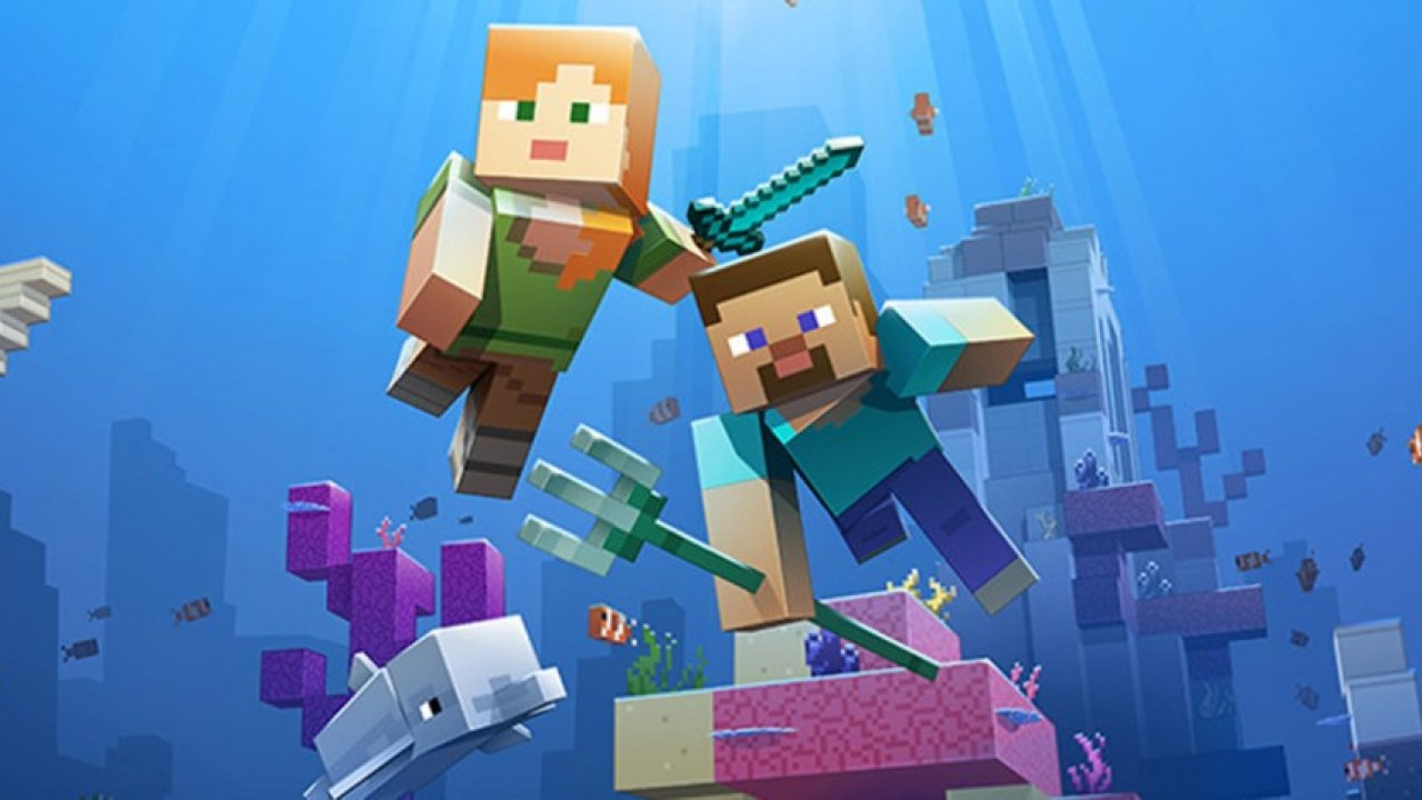 Minecraft's Aquatic Update Phase Two Gets Wet And Wild Today