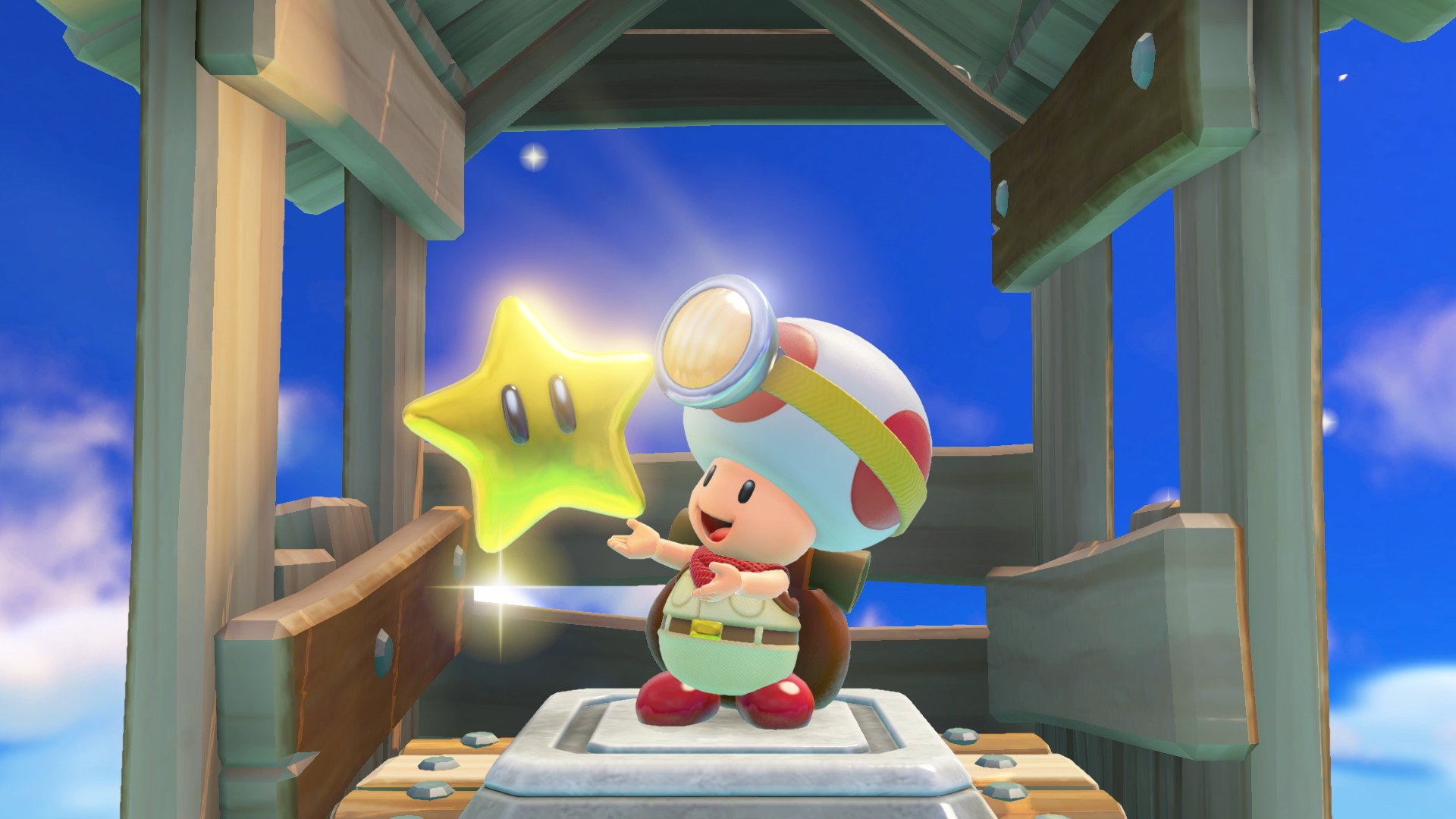 Random: Captain Toad On Switch Features A Very Out Of Place