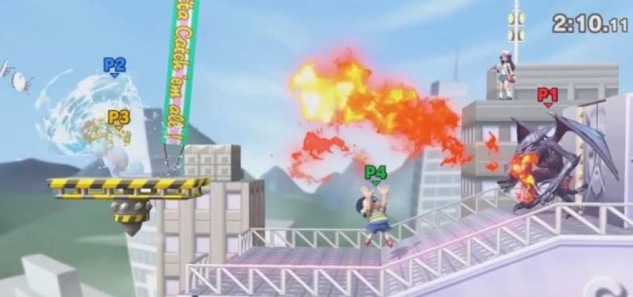 Saffron City in Super Smash Bros. Ultimate image credit:Nintendo World Report