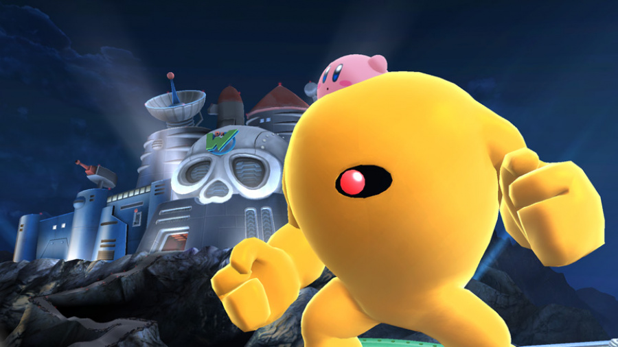 The Yellow Devil from Super Smash Bros. For Wii U
