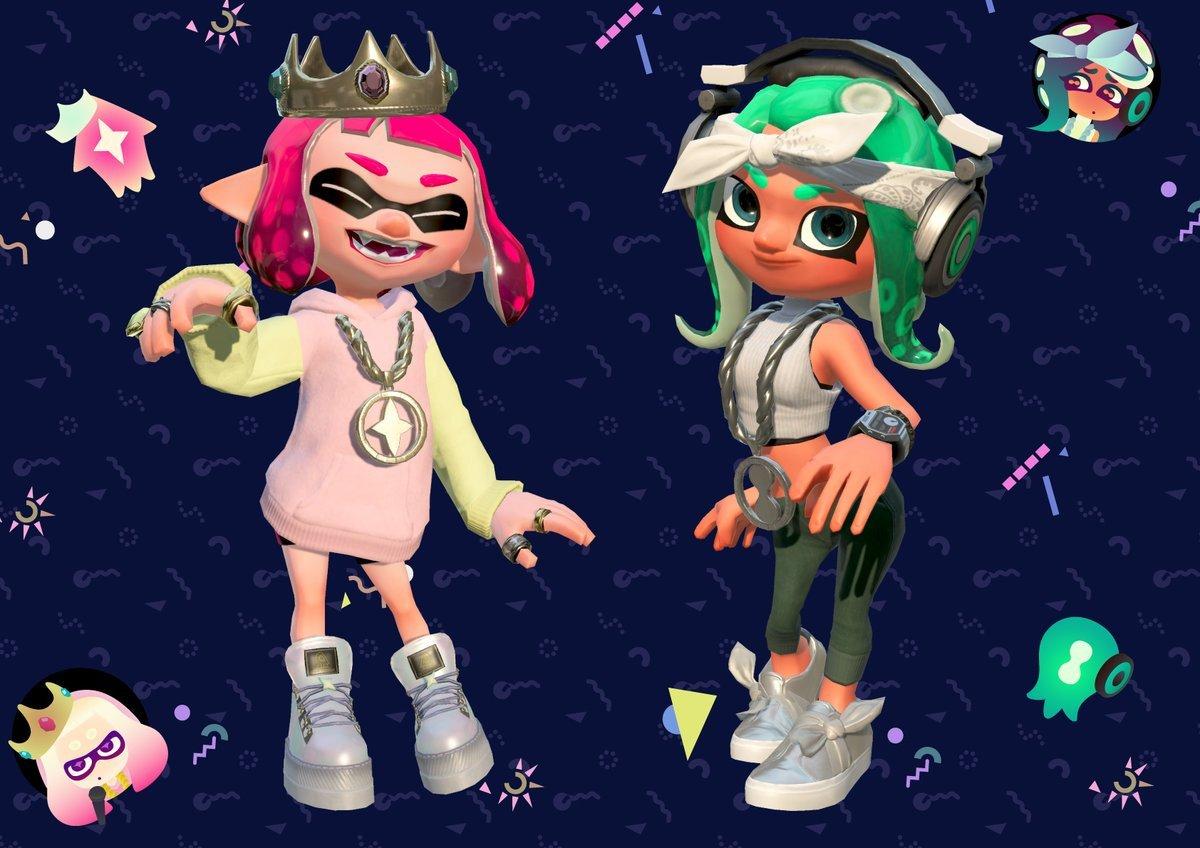 Splatoon 2 Pearl And Marina Amiibo Will Provide Special Gear And