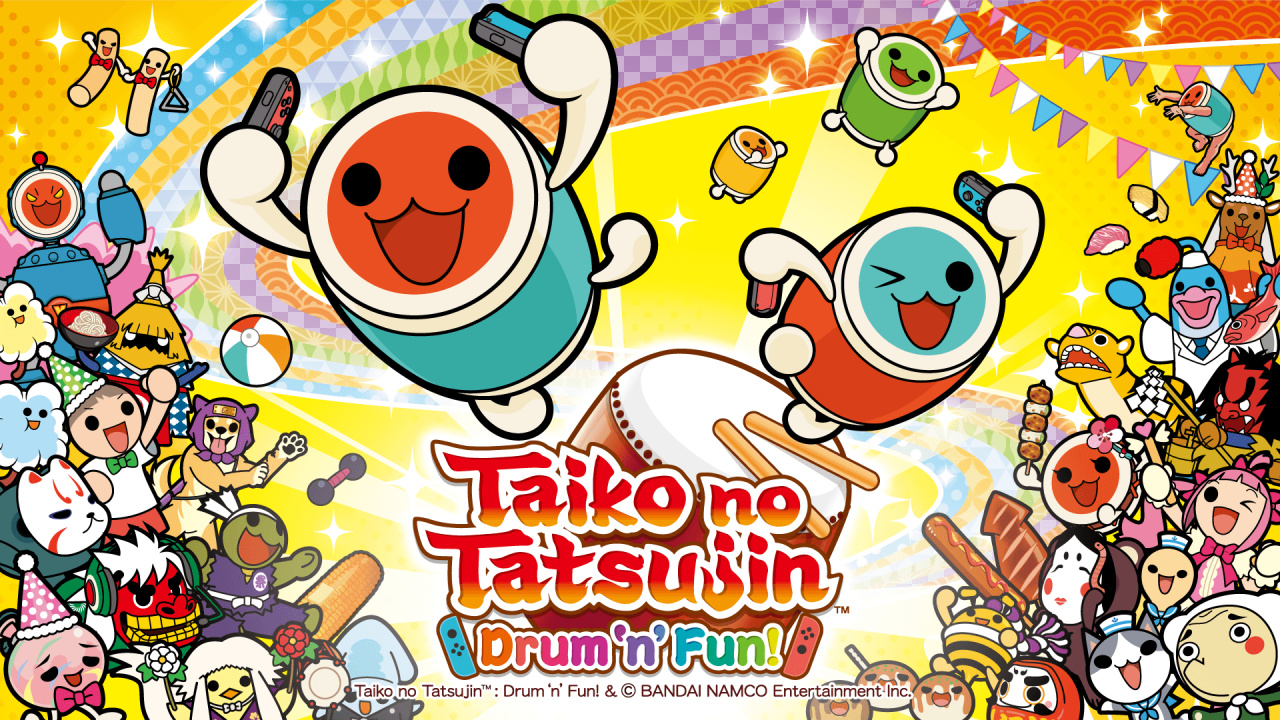 Taiko no Tatsujin: Drum 'n' Fun! Officially Confirmed For Western Switch Rel...