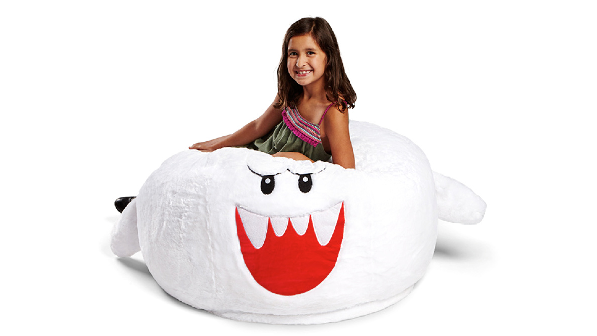 This Lovely Boo Bean Bag Chair Will Steal Your Heart, And Your Money - Nintendo ...