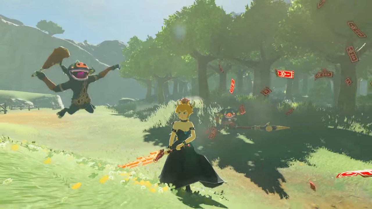 Video: Legend Of Zelda: Breath Of The Wild Mod Adds Bowsette - Nintendo Life