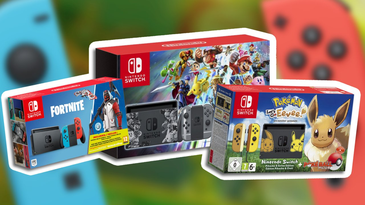Best Nintendo Switch Hardware Bundle Deals For Christmas 2018 Grey 2game 2amiibo Guide Life
