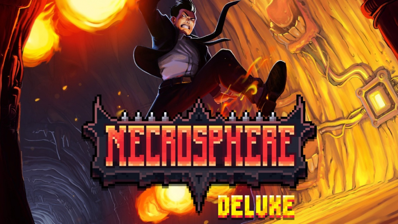 Get Ready For Some Brutal Retro-Inspired Platforming In Necrosphere Deluxe On Switch