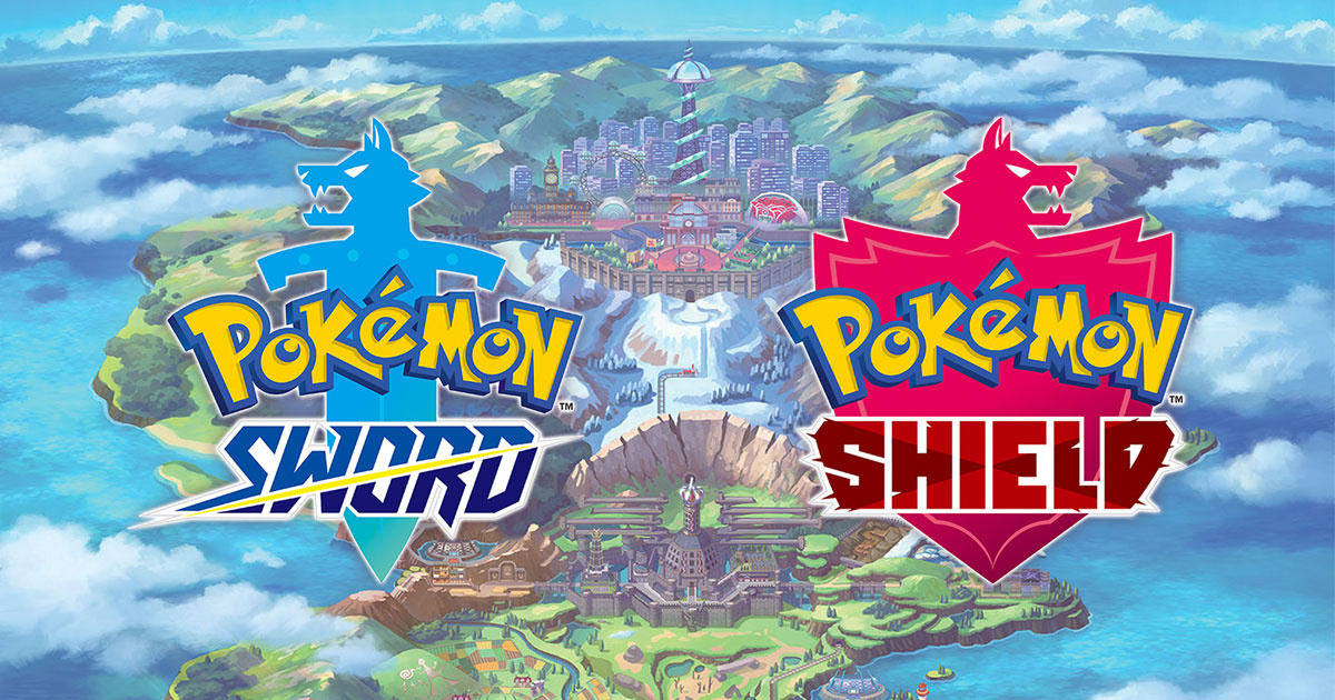 Pokemon Sword And Shield Revealed For Nintendo Switch New Starters