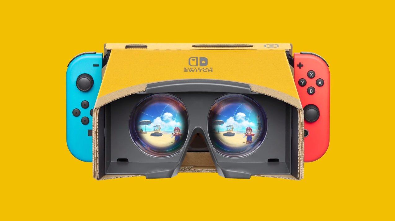 Super Mario Odyssey And Zelda: Breath Of The Wild Getting Labo VR Support