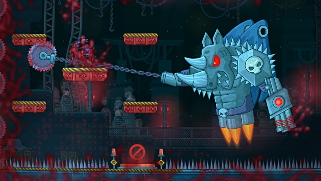 Never Give Up Brings Death-Defying Twitch Platforming To Switch This August