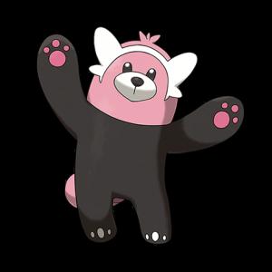 Pokemon: Bewear (Galar Pokédex #095 / National Pokédex #760)