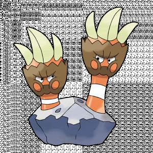 Pokemon: Binacle (Galar Pokédex #234 / National Pokédex #688)