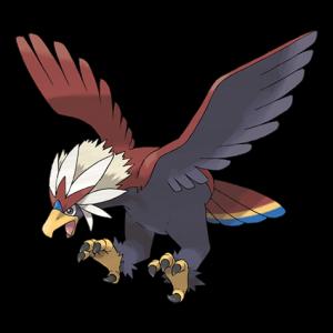 Pokemon: Braviary (Galar Pokédex #282 / National Pokédex #628)