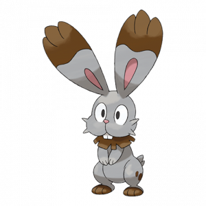 Pokemon: Bunnelby (Galar Pokédex #048 / National Pokédex #659)