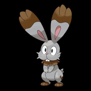 Pokemon: Bunnelby (Galar Pokédex #048 / National Pokédex #659)