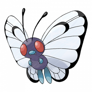 Pokemon: Butterfree (Galar Pokédex #015 / National Pokédex #012)