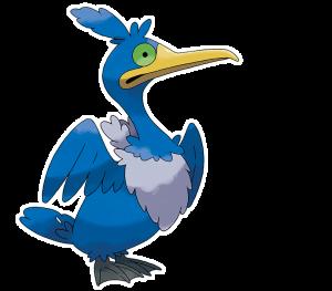 Pokemon: Cramorant (Galar Pokédex #309 / National Pokédex #845)