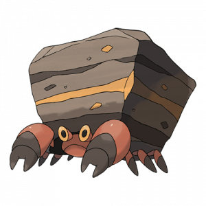 Pokemon: Crustle (Galar Pokédex #087 / National Pokédex #558)
