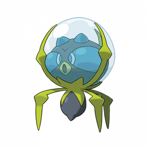Pokemon: Dewpider (Galar Pokédex #214 / National Pokédex #751)