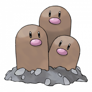 Pokemon: Dugtrio (Galar Pokédex #165 / National Pokédex #051)
