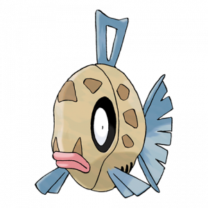 Pokemon: Feebas (Galar Pokédex #152 / National Pokédex #349)
