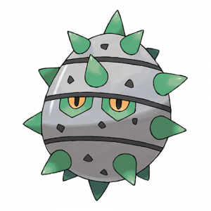 Pokemon: Ferroseed (Galar Pokédex #189 / National Pokédex #597)