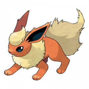Pokemon: Flareon (Galar Pokédex #199 / National Pokédex #136)