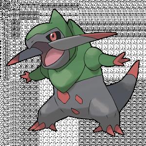 Pokemon: Fraxure (Galar Pokédex #325 / National Pokédex #611)