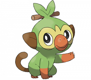 Pokemon: Grookey (Galar Pokédex #001 / National Pokédex #810)