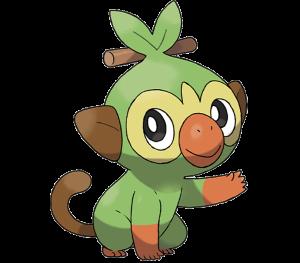 Pokemon: Grookey (Galar Pokédex #001 / National Pokédex #810)