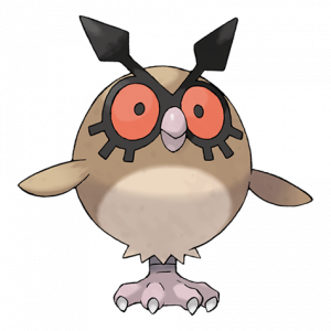 Pokemon: Hoothoot (Galar Pokédex #019 / National Pokédex #163)