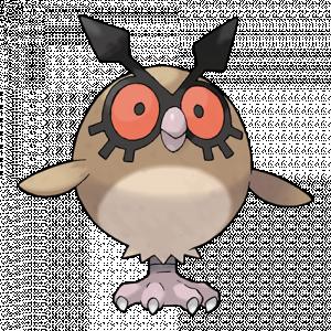 Pokemon: Hoothoot (Galar Pokédex #019 / National Pokédex #163)