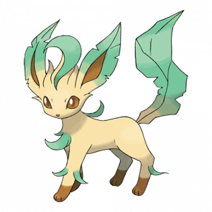 Pokemon: Leafeon (Galar Pokédex #202 / National Pokédex #470)
