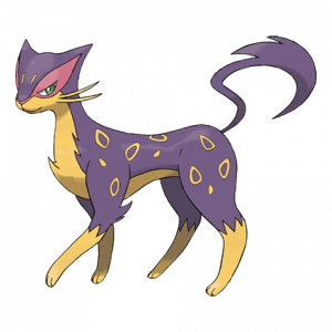 Pokemon: Liepard (Galar Pokédex #045 / National Pokédex #510)