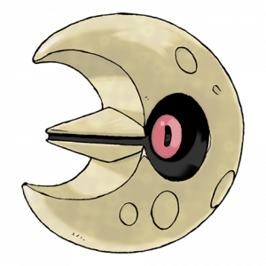 Pokemon: Lunatone (Galar Pokédex #362 / National Pokédex #337)