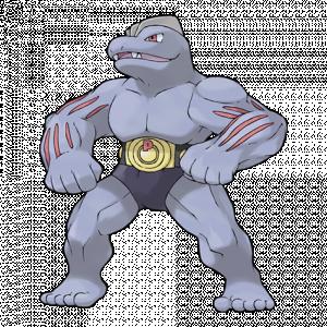 Pokemon: Machoke (Galar Pokédex #139 / National Pokédex #067)