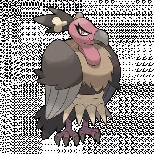 Pokemon: Mandibuzz (Galar Pokédex #284 / National Pokédex #630)