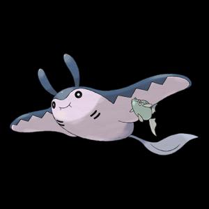 Pokemon: Mantine (Galar Pokédex #355 / National Pokédex #226)