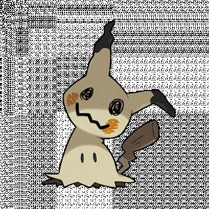 Pokemon: Mimikyu (Galar Pokédex #301 / National Pokédex #778)