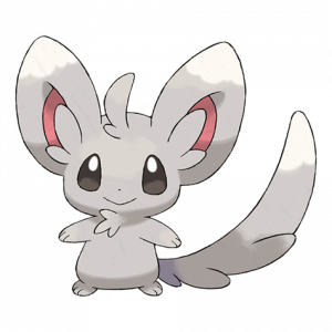 Pokemon: Minccino (Galar Pokédex #050 / National Pokédex #572)