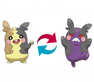 Pokemon: Morpeko (Galar Pokédex #344 / National Pokédex #877)