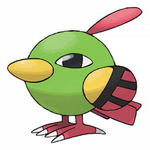 Pokemon: Natu (Galar Pokédex #092 / National Pokédex #177)