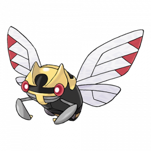 Pokemon: Ninjask (Galar Pokédex #105 / National Pokédex #291)