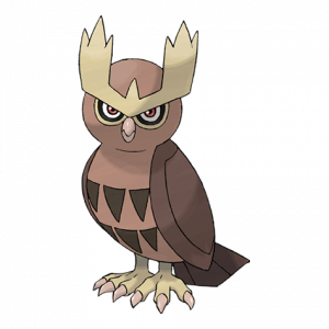 Pokemon: Noctowl (Galar Pokédex #020 / National Pokédex #164)