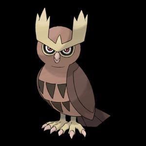 Pokemon: Noctowl (Galar Pokédex #020 / National Pokédex #164)