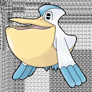 Pokemon: Pelipper (Galar Pokédex #063 / National Pokédex #279)