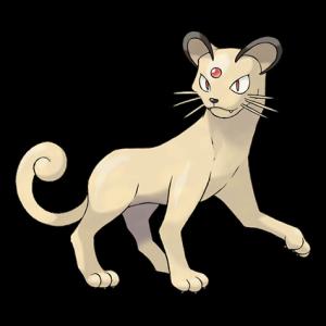 Pokemon: Persian (Galar Pokédex #184 / National Pokédex #053)